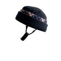 特殊衣料アボネットガードF(全周囲型) 2101 ブラック(青チェック) (取寄品)