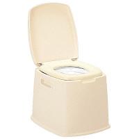 新輝合成ポータブルトイレ S型 (取寄品)