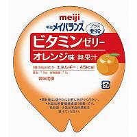 明治 明治メイバランスビタミンゼリー オレンジ味 58g×2 2671250 (取寄品)