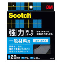 3M スコッチ(R) 強力両面テープ 一般材料用 幅20mm×長さ10m PKH-20 1箱(10巻入) スリーエム ジャパン