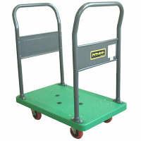 IKキャリー 樹脂製両サイドハンドル台車 耐荷重150kg P103GNS 石川製作所 (直送品)