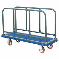 IKキャリー サイド付き台車 耐荷重300kg 410 石川製作所 (直送品)
