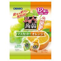 ぷるんと蒟蒻ゼリーマスカットオレンジ1袋