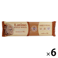 ラティーノ 全粒粉スパゲッティ袋 350g 1セット(6袋入)