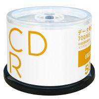 日立マクセル データ用CD-R スピンドルケース 1箱(6パック300枚) プリント対応 CDR700S.PW.50SP.AS