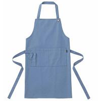 トンボ キラク エプロン ブルー フリー フリーサイズ CR046-75 1枚  (取寄品)