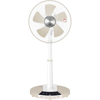 YAMAZEN 30cmリビング扇風機 白 TLR-CG30-WC つま先スイッチ