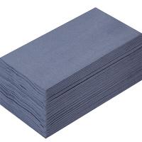 溝端紙工印刷 カラーナプキン 8つ折り 2PLY キャビア 1袋(50枚入)