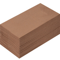 溝端紙工印刷 カラーナプキン 8つ折り 2PLY マロングラッセ 1袋(50枚入)