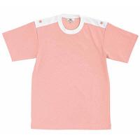 トンボ キラク 入浴介助用シャツ オーキッドピンク 3L CR034-13 1枚  (取寄品)
