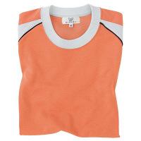トンボ キラク Tシャツ オレンジ L CR095-59 1枚  (取寄品)