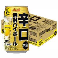 アサヒ 辛口焼酎ハイボール ドライレモン