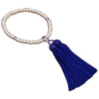 女性用数珠 カルトラパール Pハリ仕立 人絹頭付房 中郷 1個