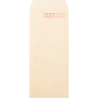 ムトウユニパック ナチュラルカラー封筒 長4 クリーム 1000枚