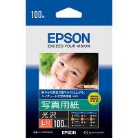 エプソン 写真用紙(光沢) L判 KL100PSKR 1袋(100枚入)