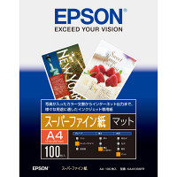 エプソン スーパーファイン紙 A4 KA4100SFR 1袋(100枚入)