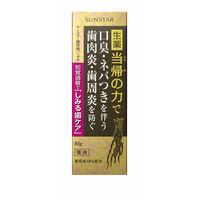 薬用塩ハミガキ しみる歯ケア 85g SUNSTAR(サンスター) 歯磨き粉