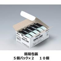 カシオ ネームランドテープ 18mm 白テープ(黒文字) 1パック(10個入) XR-18WE-10P