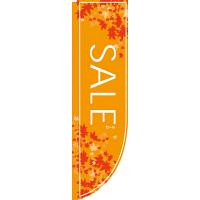 のぼり屋工房 Rのぼり 「SALE」 オレンジ 21317(取寄品)