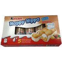 【並行輸入品】フェレロ Kinder(キンダー) ハッピーヒッポ ホワイト 1箱