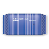 ウェットティッシュ BOXタイプ アルコール除菌ウェット 詰替用 1個(100枚入) 伊藤忠リーテイルリンク