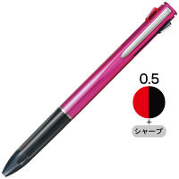 多機能ボールペン ルーチェ 2色+シャープ 0.5mm ピンク CPA-181E トンボ鉛筆
