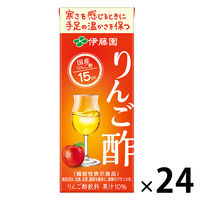 伊藤園 りんご酢 200ml×24本