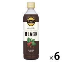 伊藤園 タリーズコーヒー Smooth Black MEDIUM(スムースブラックミディアム)500ml 1セット(6本)