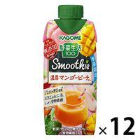 カゴメ 野菜生活100 マンゴーピーチスムージーミックス 330ml 1箱(12本入)