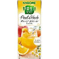 カゴメ 野菜生活100 Peel&Herb オレンジ・カモミール 200ml 1セット(48本)