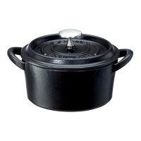 ボン・ボネール ココット 12cm ブラック イシガキ産業