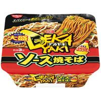 日清食品 日清デカヤキ ソース焼そばからしマヨネーズ付 23875 1箱(12食入)