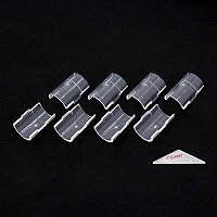 エレクター スケルトンテーパー クリア テーパードスリーブ H9985SKCL 1袋(4組入) (直送品)