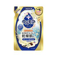 保湿入浴液 ウルモア クリーミーミルク 詰め替え 480ml アース製薬