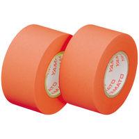 ヤマト メモックロールテープ詰替用 幅25mm×13m巻 オレンジ WR13-25H-OR 2巻