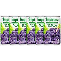 キリンビバレッジ トロピカーナ100% グレープ 160g 1セット(6缶)