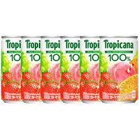 キリンビバレッジ トロピカーナ100% フルーツブレンド 160g 1セット(6缶)