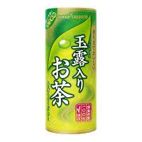 ポッカサッポロ 玉露入りお茶 195g 1箱(30本入)