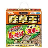 【園芸用品】除草王シリーズ オールキラー粒剤 4kg フマキラー