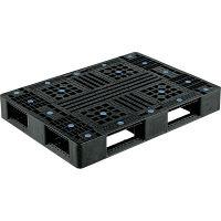 サンコー リサイクルパレットD4-811 1100X800X150mm片面使用型 808801 (直送品)