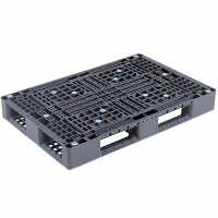 サンコー リサイクルパレットD4-812 1200X800X144mm片面使用型 808855 (直送品)