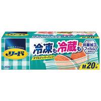 ライオン リード 冷凍も冷蔵も新鮮保存バック M SBKM 1箱(20枚入)