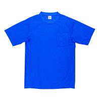 自重堂 半袖Tシャツ 男女兼用 ロイヤルブルー EL 47684(取寄品)