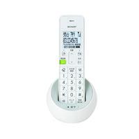 シャープ デジタルコードレス電話機 ホワイト JD-S08CL-W