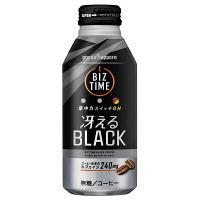 ポッカサッポロ ビズタイム冴えるブラック 400g 1セット(48缶)