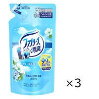 ファブリーズ 布用 そよぐ草原の香り つめかえ用 320mL 1セット(3個入) 消臭スプレー P&G