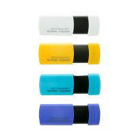 スライド式USB3.1メモリー 8GB 4色パック(4個入り)