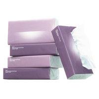 ティッシュペーパー 150組(5個入)×16パック オリジナルソフトパックティッシュ レギュラーサイズ ヴォイドパープル (FSC認証紙)1ケース(80個入)