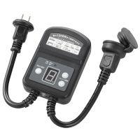 オーム電機 光センサー&タイマー付き防雨コンセント S-OCDSTM12A-02 1個