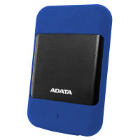 ADATA 防水・耐衝撃G衝撃センサー対応HDD 1TB ブルー AHD700-1TU3-CBL